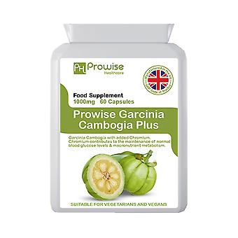 Garcinia Cambogia Whole Fruit 500mg 60 Capsules | Suitable For Vegetarians & Vegans | Made In UK