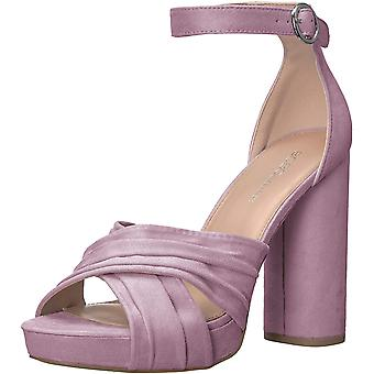 BCBGeneration Women's Flora Heeled Sandal, Lilac, 9.5 M US