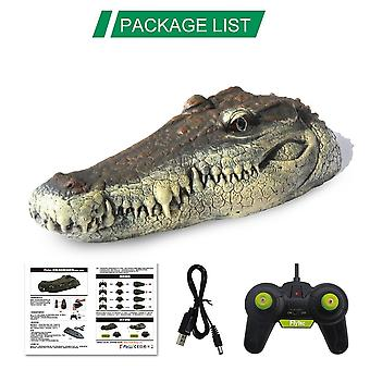 Rc Boat 2.4g, Simulation Crocodile Head -rc Remote Control Electric Racing