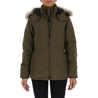 Canada Goose 3804l49 Women's Green Nylon Outerwear Jacket