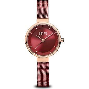 Bering - reloj de pulsera - señoras - solar - oro rosa brillante - 14627-363