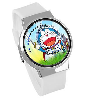 Impermeabil luminos LED Digital Touch Ceas pentru copii - Doraemon #10