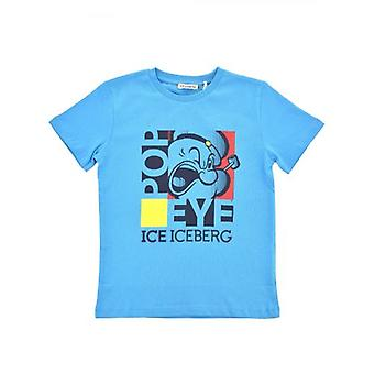 Iceberg Kids Light Blue T Shirt