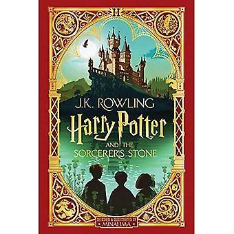 Harry Potter et le sorcier-apos;s Stone: Minalima Edition (Harry Potter, Livre 1), Volume 1 (Harry Potter)