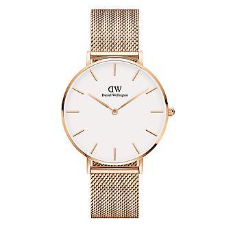 Daniel Wellington DW00100305 Petite Melrose White Dial Wristwatch