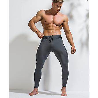 Mannen Compressie Broek- Gym Leggings Fitness Sportswear Running Panty