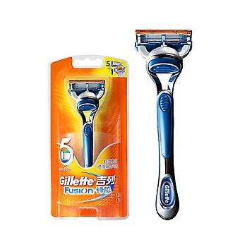 Razor For Safely Shaving - Holder Plus Replacement Razor Blades