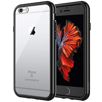 Jetech case for apple iphone 6 and iphone 6s, shock-absorption bumper cover, anti-scratch clear back wom91817
