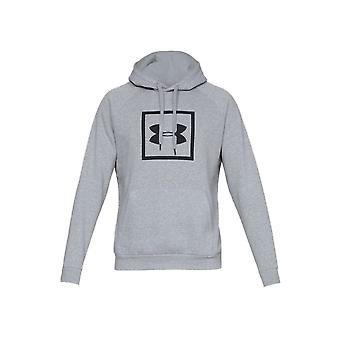 Under Armour Rival Fleece Logo Hoodie 1329745035 universal all year men sweatshirts