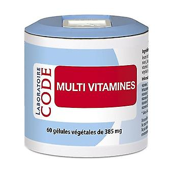 Multi Vitamins 60 vegetable capsules