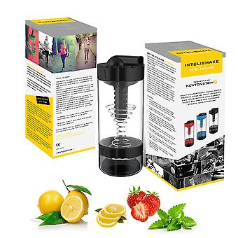 Intelishake H20 Infuse - Black Forest - Multi-compartiment 550ml Water Protein Shaker Fruit Infusion and Juice Bottle With Carbon Filter Bpa Free For Intelishake H20 Infuse - Black Forest - Multi-compartiment 550ml Water Protein Shaker Fruit Infusion and Juice Bottle With Carbon Filter Bpa Free For Intelishake H20 Infuse - Black Forest - Multi-compartiment 550ml Water Protein Shaker Fruit Infusion And Juice Bottle With Carbon Filter Bpa Free