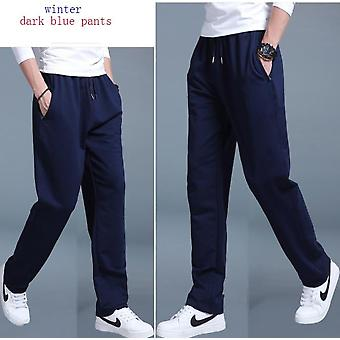 Summer Winter Sweatpants Plus Size Loose Straight Velvet Trousers  Joggers