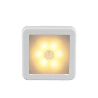 Night Light Smart Motion Sensor Led -lamppu - Akkukäyttöinen