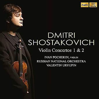 Violin Concertos 1 & 2 [CD] USA import