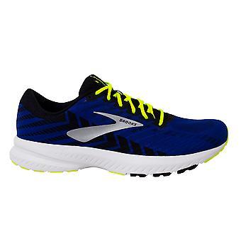 ברוקס ההשקה 6 תחרה עד כחול ארוגים גברים נעלי ריצה מאמנים 1102971D419