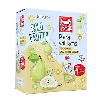 Williams pear fruit only 4 units of 100g