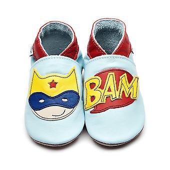 INCH BLUE Superhero Pram Shoe