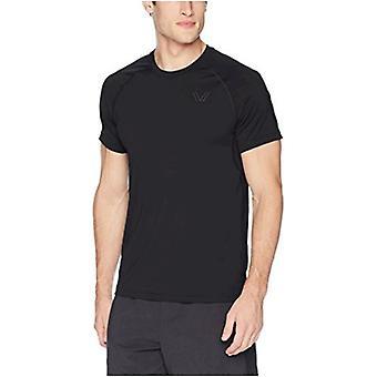 Brand - Peak Velocity Men's Elite-Stretch Short Sleeve Quick-Dry Athletic-Fit T-shirt