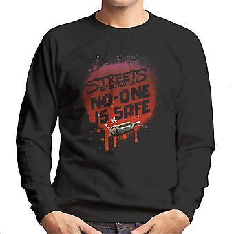 Sega Streets Of Rage Ingen er trygg menn's Sweatshirt