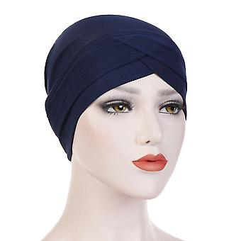 Full Cover Inner Hijab Caps Muslim Stretch Turban Cap Islamic Underscarf Bonnet