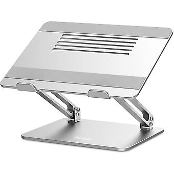 BoYata Laptop Stand, Multi-Angle Laptop Riser with Heat-Vent, Adjustable Notebook Stand