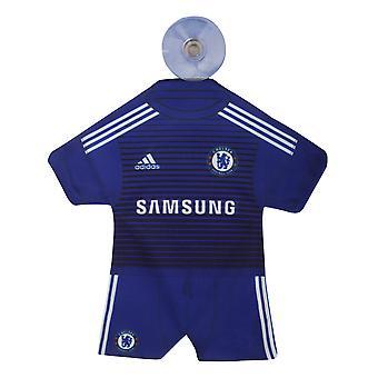 Chelsea FC Official Mini Football Kit Car Window Hanger