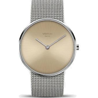 VOTUM - Reloj de señoras - CÍRCULO - Puro - V01.10.10.91 - Milanaisband - Acero