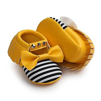 Baby Mädchen Quasten weiche Sohle Schuhe - Stil 3