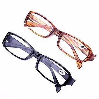 الصلبة لون الراتنج القراءة نظارات خفيفة جدا حامي النظارات المكبرة
