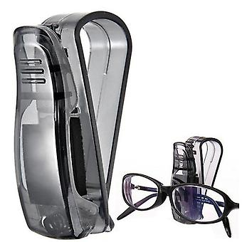 Sonnenvisier Brille Fall, Auto-Verschluss Clip, Sonnenbrille Halter für Auto