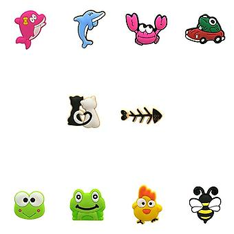 Animal Dogs Croc Charms Avocado Shoe Charms Decorations Medical Accessories