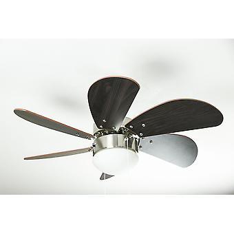 Ventilador de techo Westinghouse Turbo Swirl cromo satinado