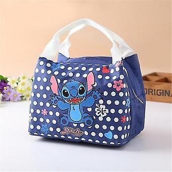Disney Cartoon Insulation Stitch Cute Lunch Bag