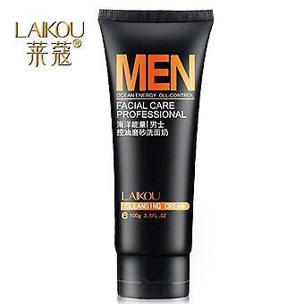 Miehet Öljynhallinta Syvä puhdistava ihonhoito puhdistusaine