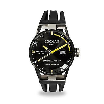 Locman Wristwatch MONTECRISTO 0511BKBKFYL0GOK