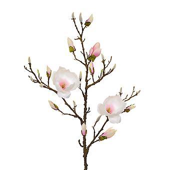 Kunstig Magnolia gren 100 cm pink