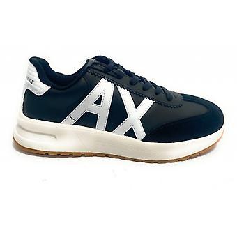 Men's Sneaker Armani Exchange In Suede/ Black Faux Leather U21ax06