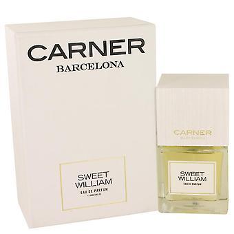 Sweet William Eau De Parfum Spray By Carner Barcelona 3.4 oz Eau De Parfum Spray