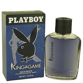 Playboy King Of The Game Eau De Toilette Spray By Playboy 3.4 oz Eau De Toilette Spray