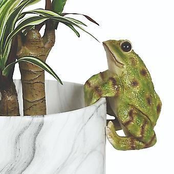 Straits Frog 13cm Outdoor Weatherproof Plant Pot Hanger