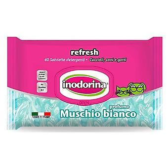 Inodorina Refresh Wipes Muschio Bianco