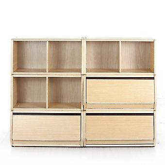 Children's Room Storage Cabinet Multi-layer Combination