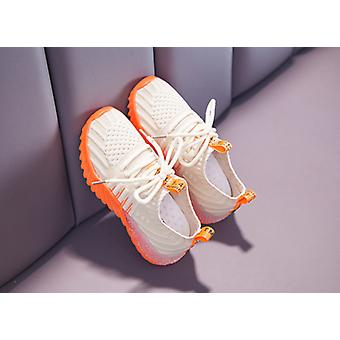 Girl's Netted Sports Shoes