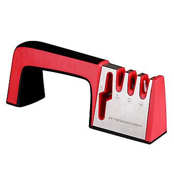 Fast Household Four-section Sharpener Manual Fixed Angle Sharpening Tool