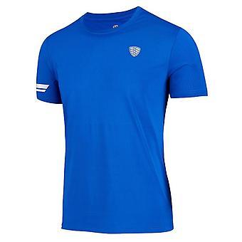 Gym Shirt Men Short, Fitness Sportswear T-shirt For Male