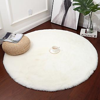Home Decor Large Fluffy Rugs Anti-Skid Shaggy Area Rug Room Living Room Bedroom Carpet Round Floor Mat