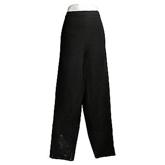 Isaac Mizrahi En direct! Pantalon femme's 34 Tall 24/7 Stretch Ankle Black A394139