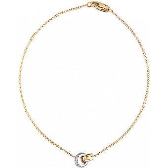 Mark Milton Diamond Dubbelringarmband - Guld/Vitt Guld