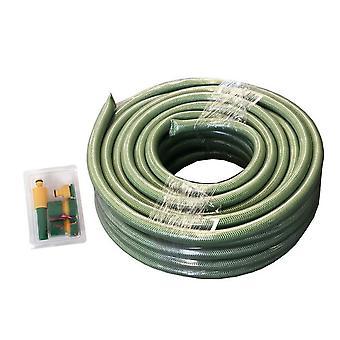 puutarhaletku 15 metriä polyesteri vihreä 5-tlg