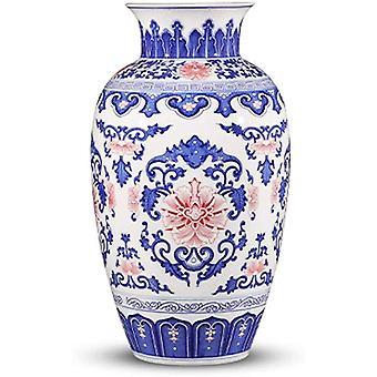 花瓶白い磁器中国のホームルームの配置セラミック装飾大きな異なるマニュアル測定